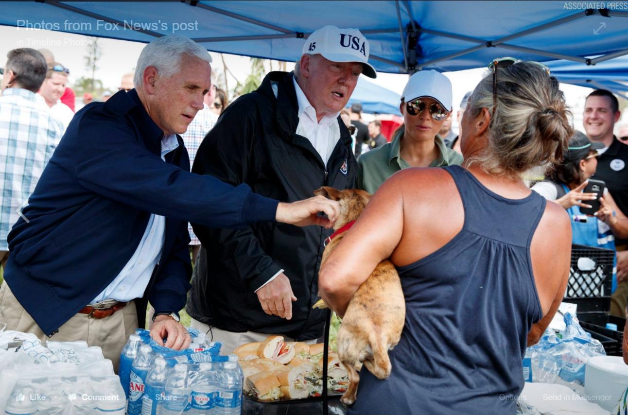 President TrumpMobile Home ParkNaples FloridaServing
