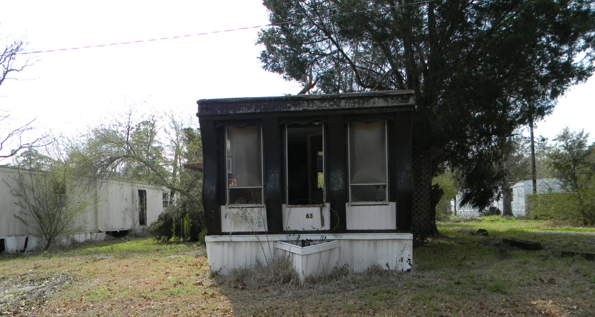 What to do with abandoned/uninhabitable homes - mobile home